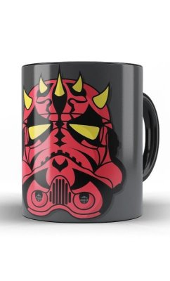 Caneca Star Wars Darth Maul Stormtrooper