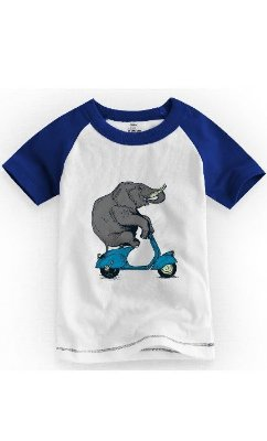 Camiseta Infantil Elefante