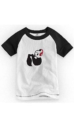 Camiseta Infantil Panda