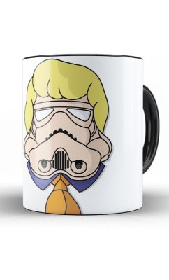Caneca Scooby Doo - Fred  Stormtrooper