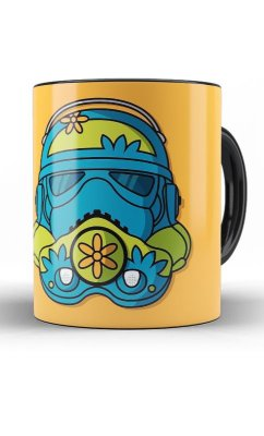 Caneca Scooby Doo - Mystery Machine  Stormtrooper