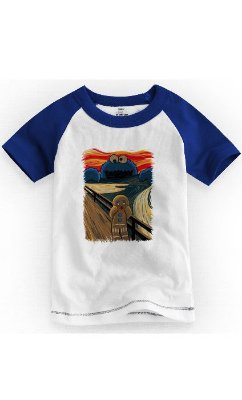 Camiseta Infantil Homem-Biscoito