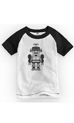 Camiseta Infantil Robô