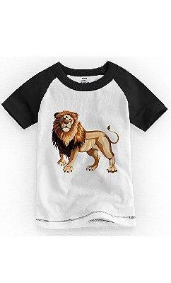 Camiseta Infantil Lion