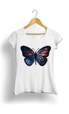 Camiseta Butterfly Color