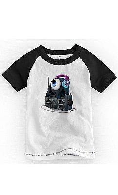Camiseta Infantil Dj Sound