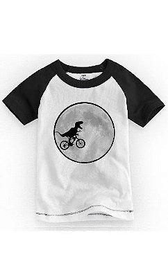 Camiseta Infantil Dinossauro Bike