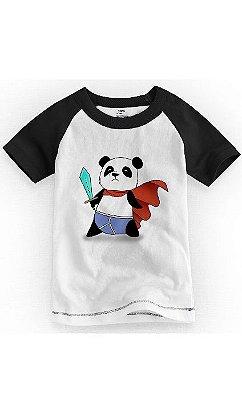 Camiseta Infantil Panda Heroi