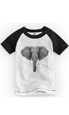 Camiseta Infantil Elefante Grey