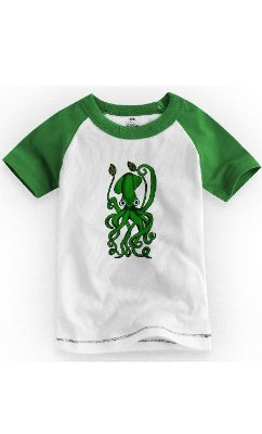Camiseta Infantil Polvo Green