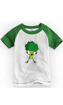 Camiseta Infantil Brocolis