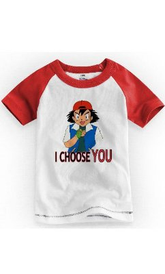 Camiseta Infantil Ash