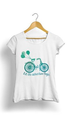 Camiseta Feminina Tropicalli Let The Adventure Begin