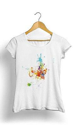 Camiseta Feminina Tropicalli Colors