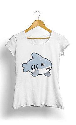 Camiseta Feminina Tropicalli Shark