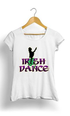 Camiseta Feminina Tropicalli irish Dance