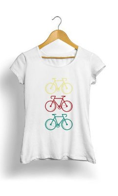 Camiseta Feminina Tropicalli Bike