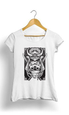 Camiseta Feminina Tropicalli Samurai Trooper