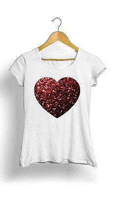 Camiseta Feminina Tropicalli Heart