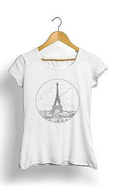 Camiseta Feminina Tropicalli Eiffel Tower
