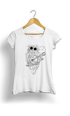 Camiseta Feminina Tropicalli Music owl