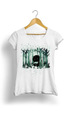 Camiseta Feminina Tropicalli Floresta