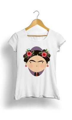 Camiseta Feminina Tropicalli Frida