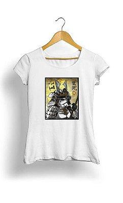 Camiseta Feminina Tropicalli Samurai Stormtrooper