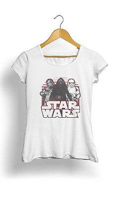 Camiseta Feminina Tropicalli Retro First Order