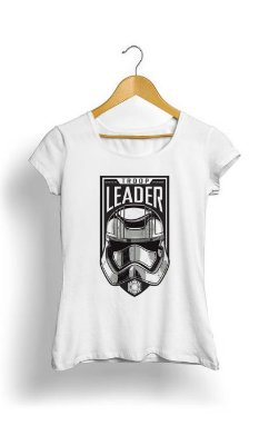 Camiseta Feminina Tropicalli First Order Troop Leader