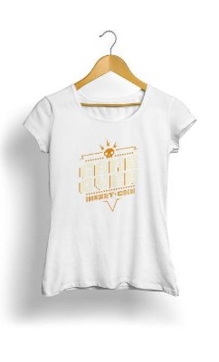Camiseta Feminina Tropicalli Game Over