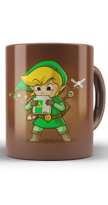 Caneca Link Ocarina of Time