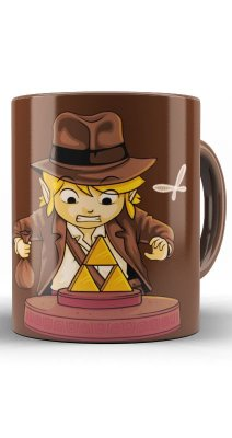 Caneca Link Indiana Jones