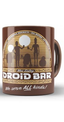 Caneca Star Wars Droid Bar