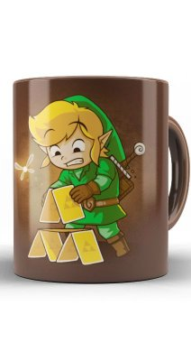 Caneca The Legend Of Zelda Triforce