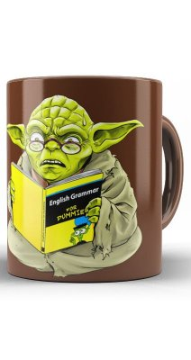 Caneca Star Wars Yoda Man