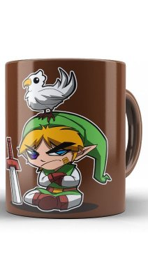 Caneca The Legend Of Zelda Link Angry