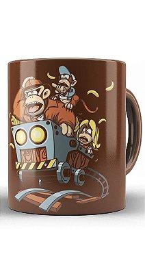 Caneca Donkey Kong DK Indiana Jones
