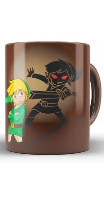 Caneca The Legend Of Zelda Dark Link