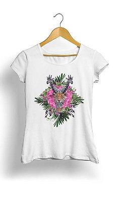 Camiseta Feminina Tropicalli Selva