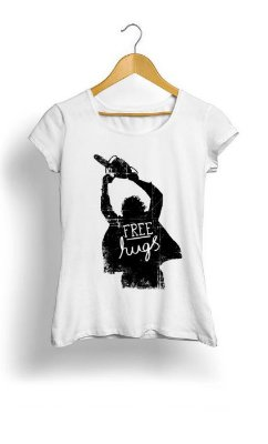 Camiseta Feminina Tropicalli Free Hugs