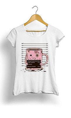 Camiseta Feminina Tropicalli Mugshot