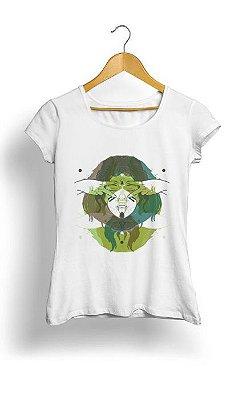 Camiseta Feminina Tropicalli Three Equals Four