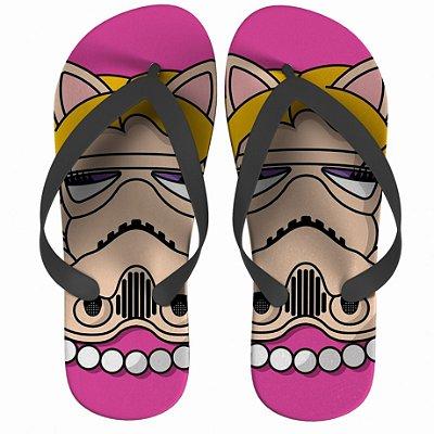 Chinelo Star Wars Miss Piggy Strompers