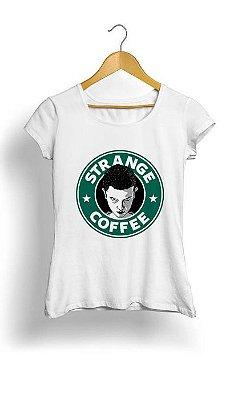 Camiseta Feminina Tropicalli Strange Coffe