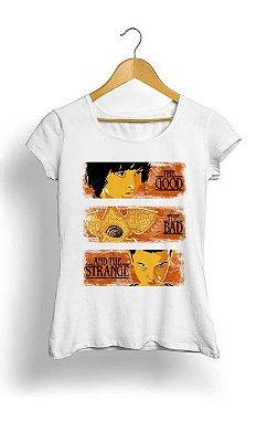 Camiseta Feminina Tropicalli Stranger