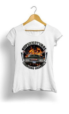 Camiseta Feminina Tropicalli Supernatural