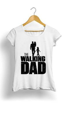 Camiseta Feminina Tropicalli The walking dad