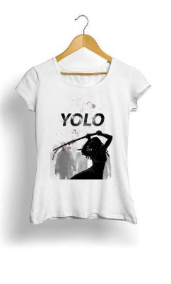 Camiseta Feminina Tropicalli Yolo