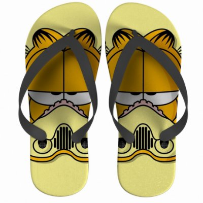 Chinelo Star Wars Garfield Strompers